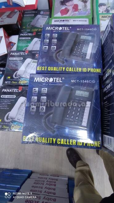 Stasionar Telefon Microtel MCT-1546CIDBrend:Microtel LCD ekranSpiker