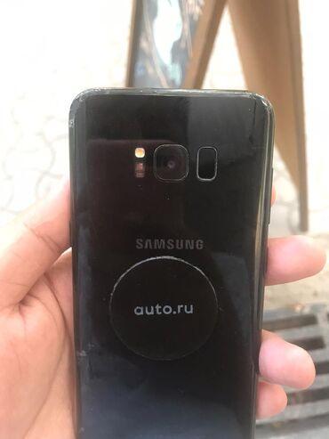 Samsung-galaxy-note4 - Кыргызстан: Б/у Samsung Galaxy S8 Plus 64 ГБ Черный