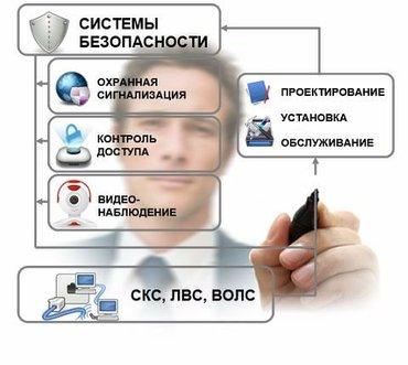 Монтаж и установка видеонаблюдение в Бишкек