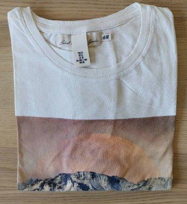 Batman-h-m - Srbija: H&M bež majica sa printom, veličina XL - NOVOH& M majica, bež