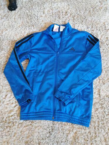 Ostala dečija odeća   Kikinda: Adidas original duks za dečake. Broj 11-12, kupljen u inostranstvu