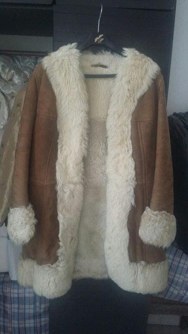 Krzneni kaputi - Bogatic: Prelepa poluduga bunda od prirodnog krzna i koze.velicina 40.odlicna