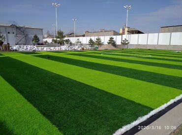 жидкий газон бишкек в Кыргызстан: Искусственный газон 40 мм 7800 дитексИскусственный газон для