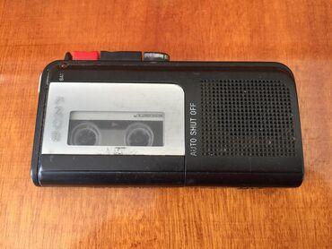 kaset - Azərbaycan: Diktafon SONY işləyir kaset də üstündə