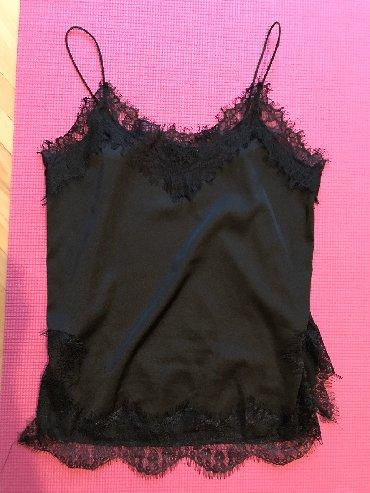Satenska haljina sa - Srbija: Elegantna majica sa cipkom. Saten