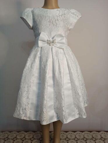 Продаю детские вечерние платья новые две расцветки айвори и пудра.32
