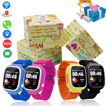 Smart Watch Q90 - 75 AZNSensor və rəngli ekranlı smart uşaq