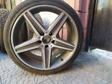 Автозапчасти и аксессуары в Душанбе: Срочно продаю диски с шинами р19,с жирной резиной разноширокие