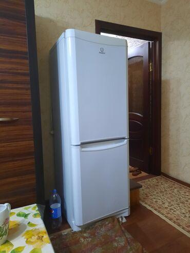 | Б/у Двухкамерный | Белый холодильник Indesit