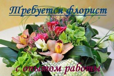 Ищем флористов с опытом работы. в Бишкек