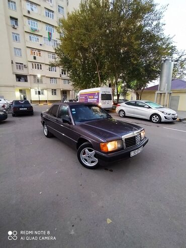 1991 bmw - Azərbaycan: Mercedes-Benz 190 1.8 l. 1991 | 230000 km