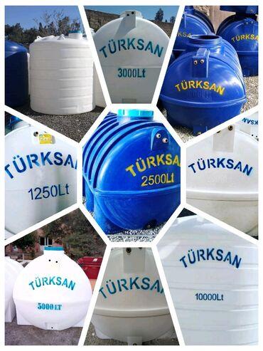 audoy 80 - Azərbaycan: Su Çəni! Su Ceni! Türksan şirkətinin poleitilendən hazırlanmış su Oval