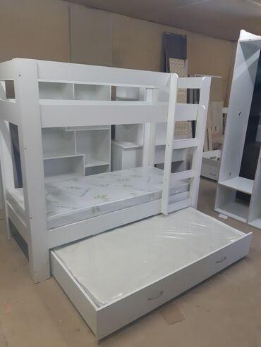детские вещи с в Кыргызстан: Кровать двухярусная с доп местомпродаю новую детскую двухярусную