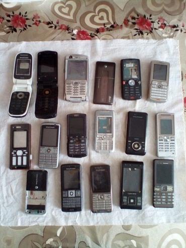 Bakı şəhərində Sony Ericsson ehtiyat hisseleri. Yalniz bu modeller var.Qiymet