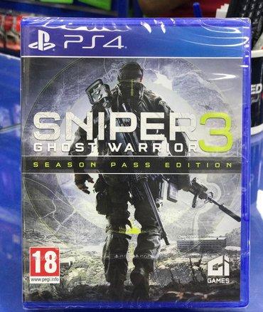 Bakı şəhərində Sniper 3 elite ps4