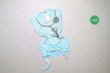 Топы и рубашки - Новый - Киев: Дитяча майка з морським принтом Umka, вік 12 р., зріст 152 см    Довжи