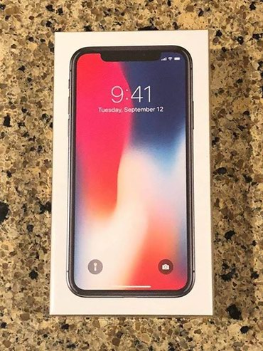Новый Apple iPhone X 256GB Space Grey Unlocked * Brand New with в Душанбе