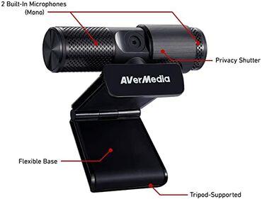 веб камеры razer в Кыргызстан: Продаётся крутая веб камера avermedia live streamer cam 313 (pw313)  о