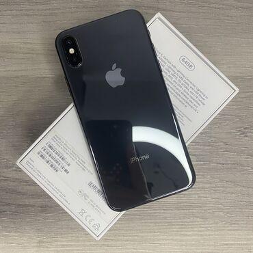 IPhone X | 64 ГБ | Черный | Б/У