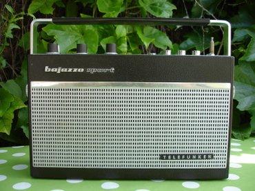 Stari nemački radio tranzistor TELEFUKEN Bajazzo Sport 101K, - Novi Sad
