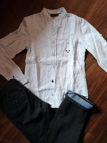 Dečija odeća i obuća   Ruma: Košulja i pantalone za dečake, veličina 10. Očuvane i bez oštećenja