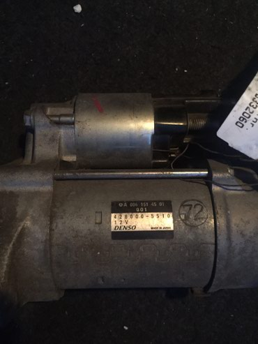 W212 E klass 220-250CDI ın starteri.2009-2012 ci il