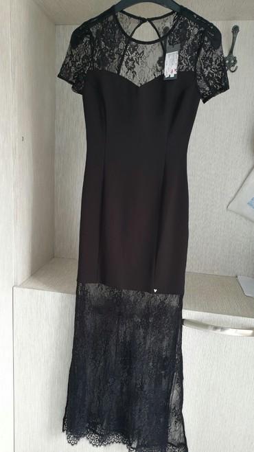 Savršena, elegantna crna guess haljina, ima dva šlica, nova sa - Crvenka