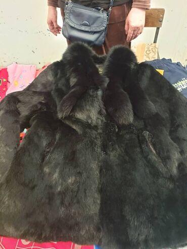 Женская одежда - Кыргызстан: Распродажа!! Шуба. Размер 52. Мех кролячий. Состояние хорошее