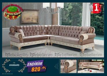 Bakı şəhərində Avangard kunc divan