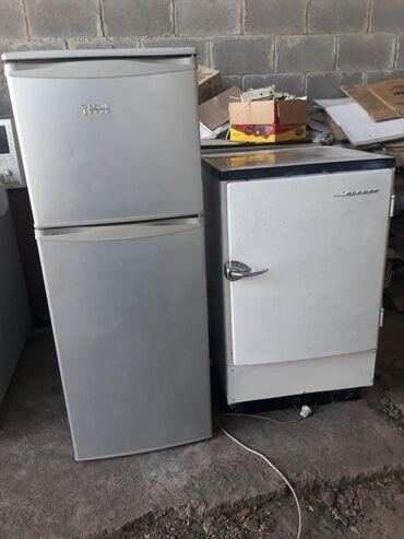 Б/у Двухкамерный Серебристый холодильник
