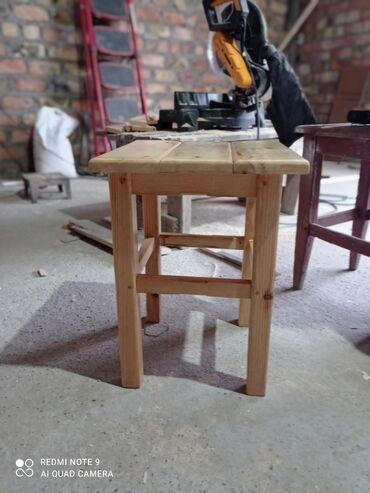 Дом и сад - Кок-Ой: Делаем табуретки на заказ из дерева.Цена 700 сом. Ватсапп
