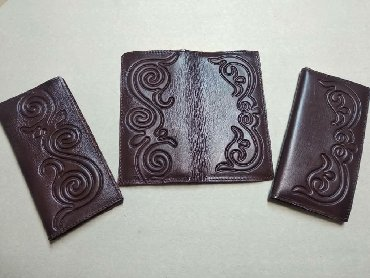 сумка клатч ручной работы в Кыргызстан: Кошелек ( портмоне, клатч, сумки) из натуральной кожи.   Ручная работ