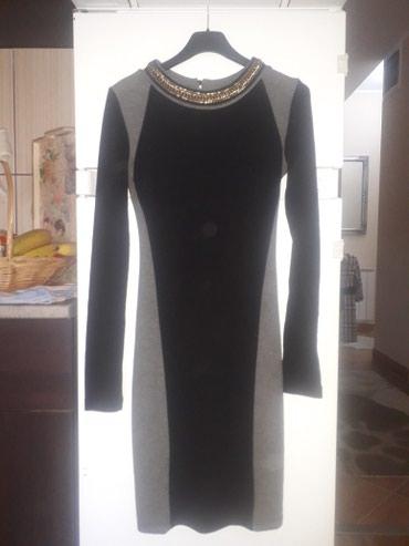 Nova haljina unikatna sa rucno usivenim detaljima u vidu ogrlice oko - Pancevo