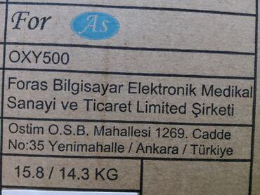 Кислородный концентратор купить бу в бишкеке - Кыргызстан: Кислородный концентратор Форас OXY500 – прекрасный выбор для проведени