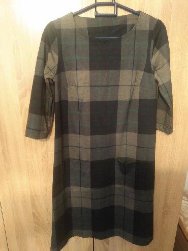 теплое платье большого размера в Кыргызстан: Платье теплое, размер 46-48
