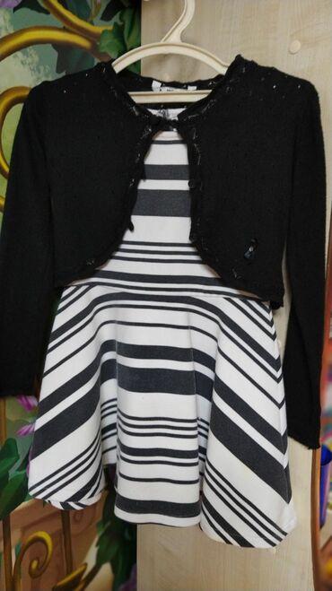 Симпатичный костюм:платьице и болероПлатье можно носить отдельно