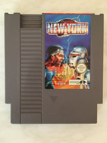 Nintendo entertainment system (nes) : action in new york.  Original. - Vrnjacka Banja
