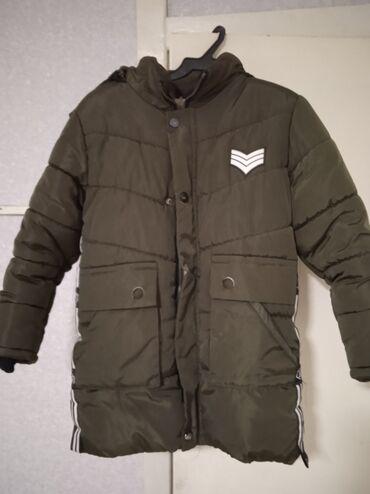Продаю зимнюю куртку подростковую 9-10 лет