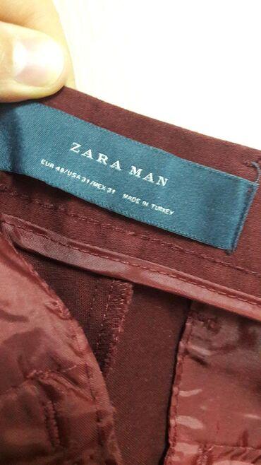 Bordo pantalone iz ZARE broj 40