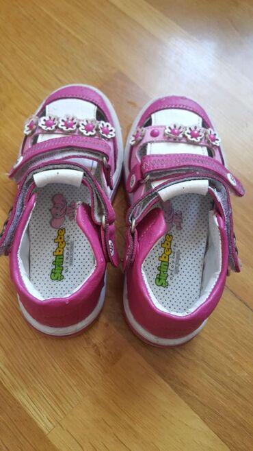 детские лаковые туфли в Азербайджан: Б/у(1-2 раза одевались) Детские туфли şirinbebe размер 23, в