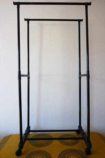 Dzak odece garderoba - Srbija: Stalak za garderobu dupli Stender do 30 kg Cloth Rack- Stalak za