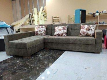 Kunc divanlar satilir 350 manat ve her cur olcu ve rengde Acilan diva