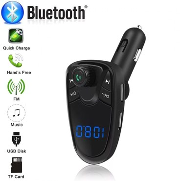 Bluetooth FM Transmitter MP3 Modulator Handsfree Dual USB - Kragujevac