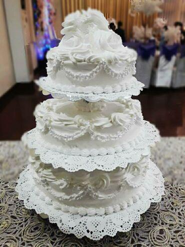 Свадебный торт! С доставкой!