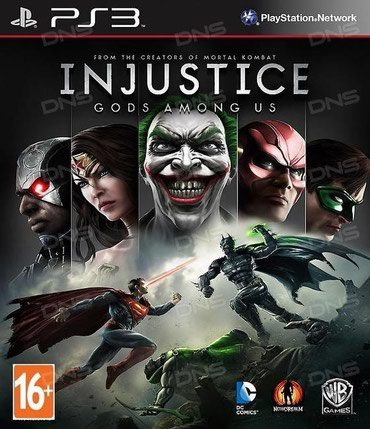 """Injustice: Gods Among Us"" игра для PS3 в Bakı"