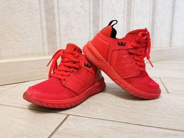 Детский мир - Кок-Джар: Детские кроссовки Supra. Оригинал!! В идеальном состоянии. Размер