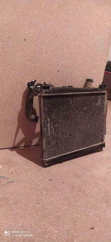 винтиль в Кыргызстан: Радиятор +винтилятор. Целый.тойота ист. Б.у. Цена 6000 сом.торг