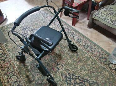 184 объявлений: Продаю ходунки. Складные, удобные, лёгкие. С багажником и тормозами. П