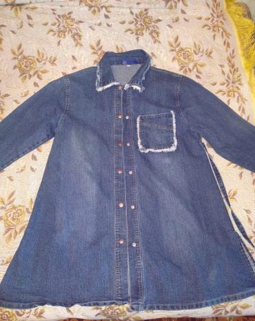 Продаю джинсовую куртку для беременных одевала пару раз в Бишкек