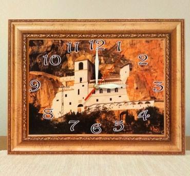 Kuća i bašta - Smederevska Palanka: Manastiri i crkve-motivi za zidne satove. Izradjujemo satove precnika